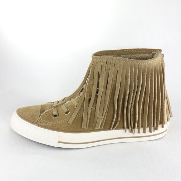 bdede1e26f0e69 CONVERSE Chuck Taylor All Star Fringe Sneakers